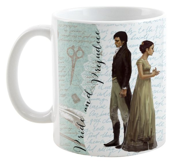 Caneca - Pride and Prejudice