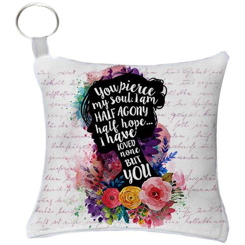 Chaveiro - Jane Austen - Metade de Mim