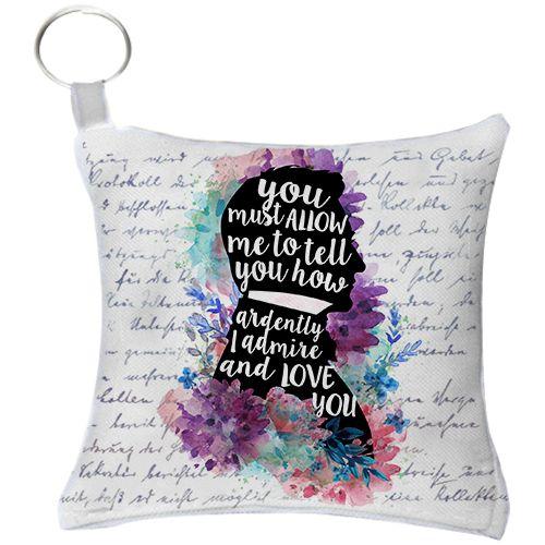 Chaveiro - Jane Austen - Love You