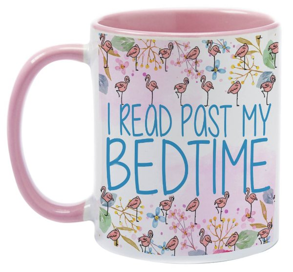 Caneca - Bookstagram - I read past my Bedtime