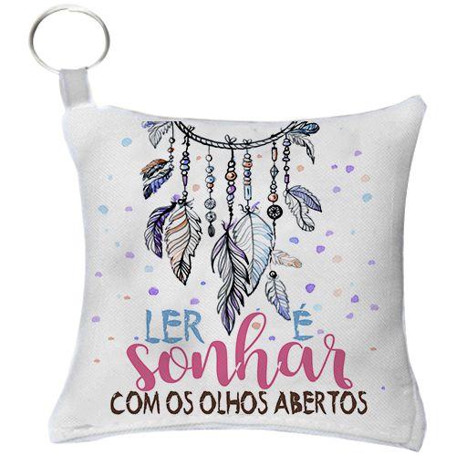Chaveiro - Ler é sonhar de olhos Abertos