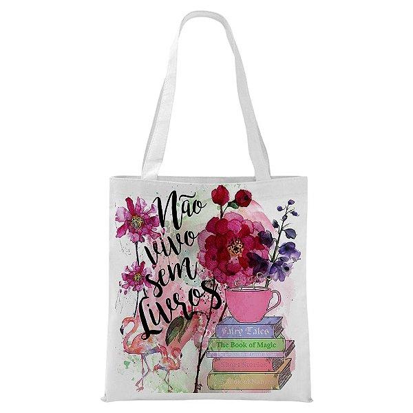 Ecobag - Não vivo sem Livros