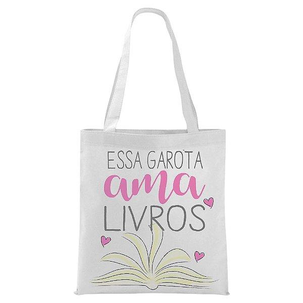 Ecobag - Essa garota ama Livros