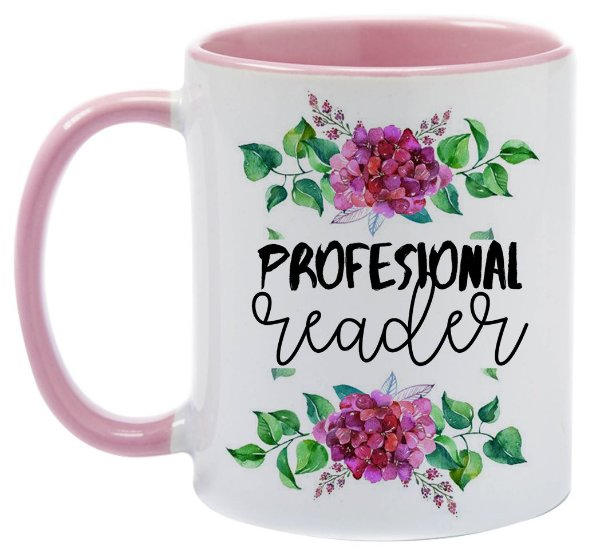 Caneca Bookstagram - Professional Reader
