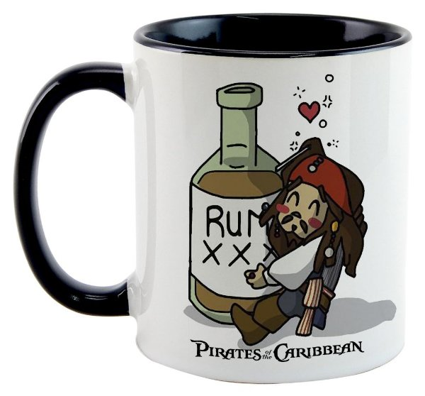 Caneca - Piratas do Caribe - Rum