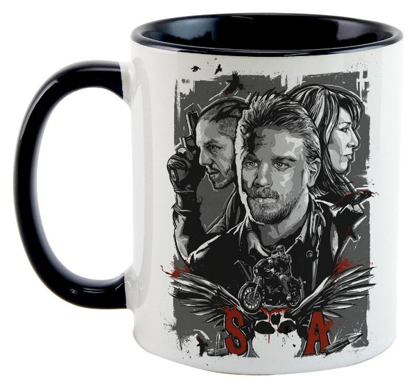 Caneca - Sons of Anarchy - Personagens