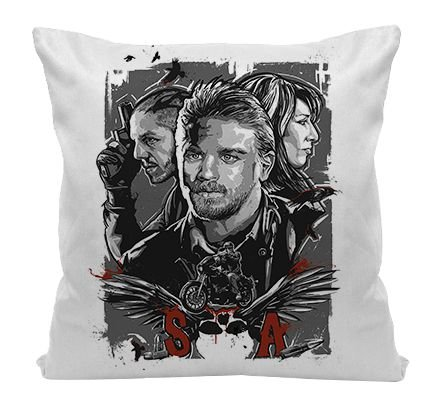 Almofada - Sons of Anarchy - Personagens
