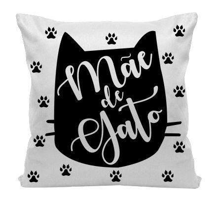 Almofada - Mãe de Gato