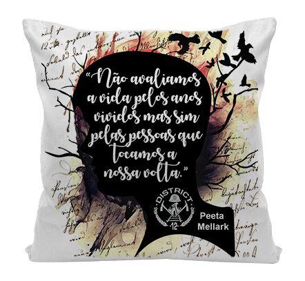 Almofada - Jogo Vorazes - Peeta Mellark