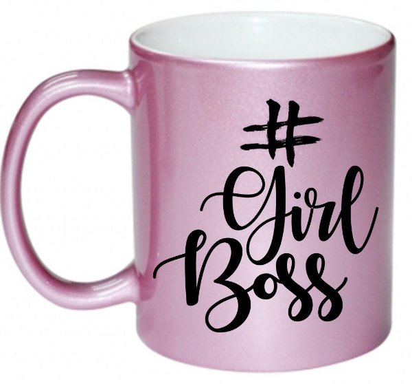 Caneca - Girl Boss - Pink