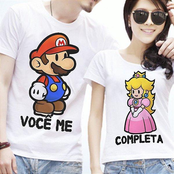 Camisetas - Você me completa - Mario