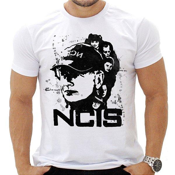 Camiseta Masculina - NCIS