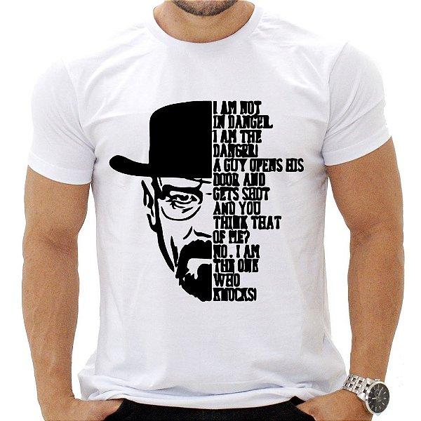 Camiseta Masculina - Heisenberg - Quote