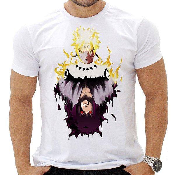 Camiseta Masculina - Naruto - Espelho