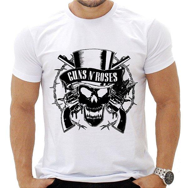 Camiseta Masculina - Guns N' Roses