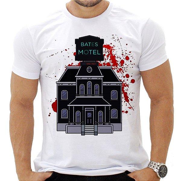 Camiseta Masculina - Bates Motel