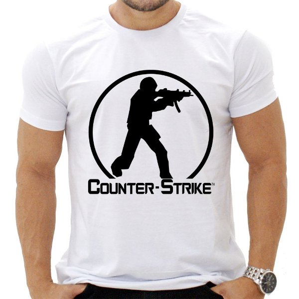 Camiseta Masculina - Counter Strike