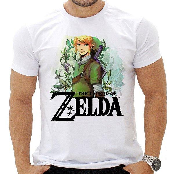 Camiseta Masculina - Zelda