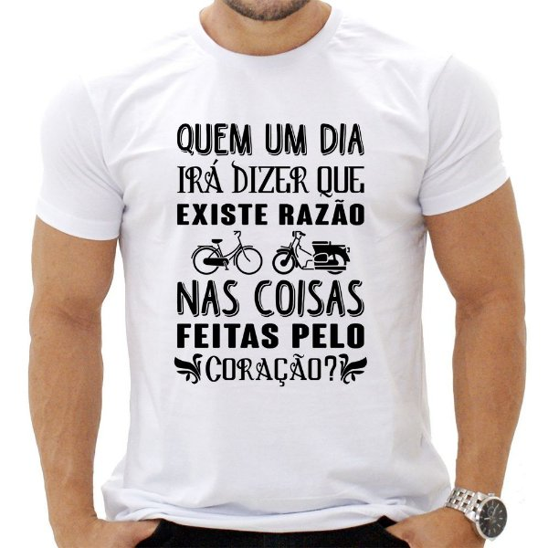 Camiseta Masculina -  Quem um Dia