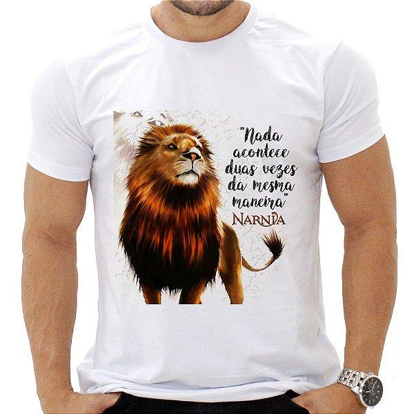 Camiseta Masculina - Narnia