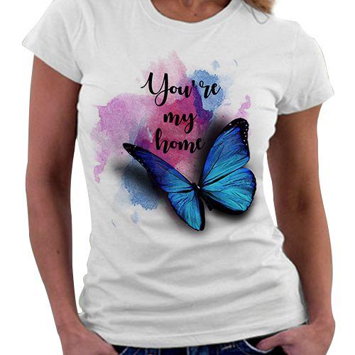 Camiseta Feminina - Belo Desastre - My Home