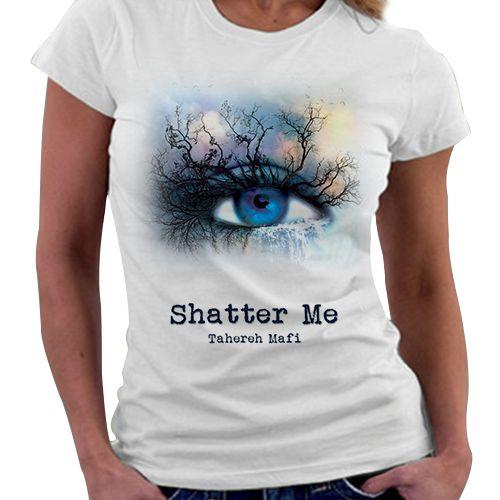 Camiseta Feminina - Livro Estilhaça-me