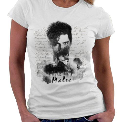Camiseta Feminina - Instrumentos Mortais - Malec