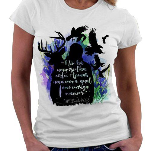 Camiseta Feminina - Garotos Corvos