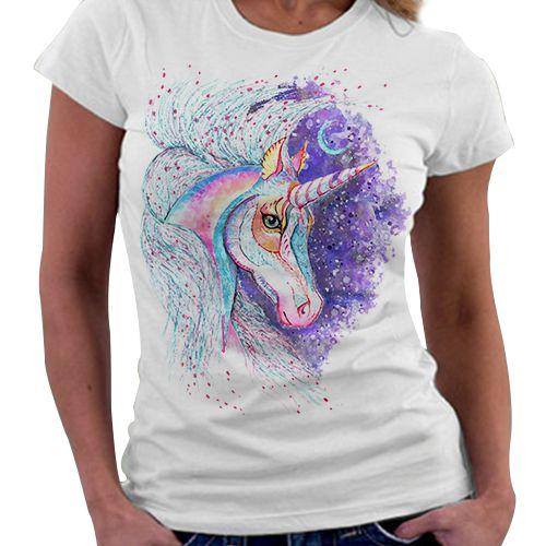 Camiseta Feminina - Unicórnio