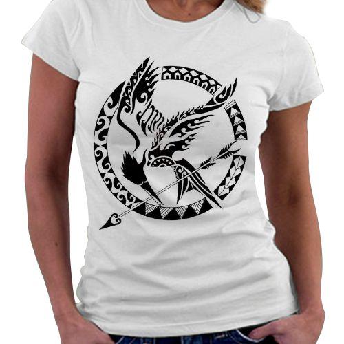 Camiseta Feminina - Jogos Vorazes - Tordo