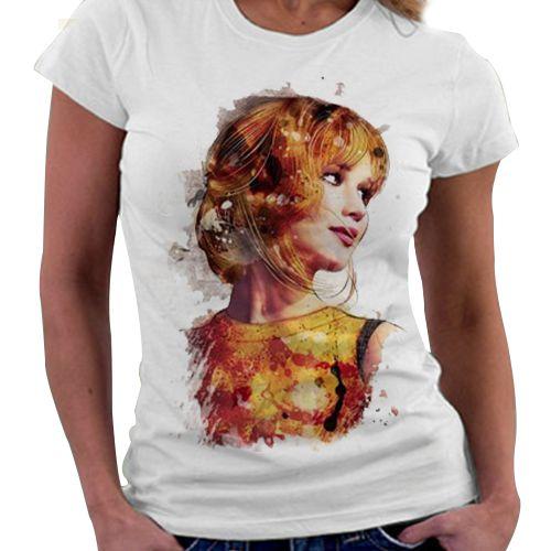 Camiseta Feminina - Jogos Vorazes - Katniss