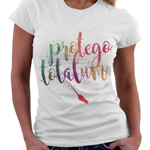 Camiseta Feminina - Protego Totalum