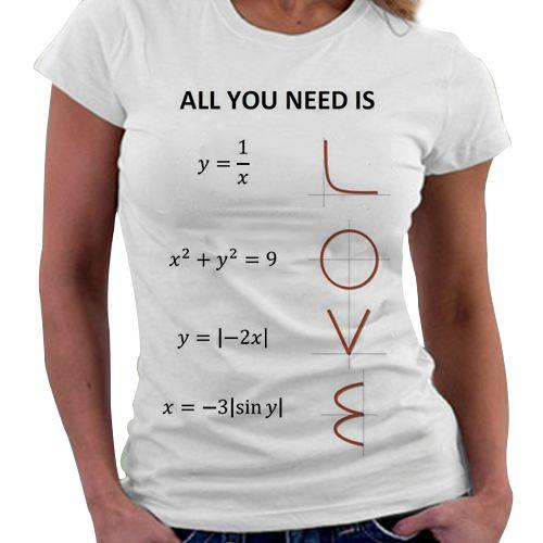 Camiseta Feminina - All You Ned Is