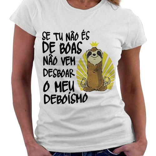 Camiseta Feminina - De Boas