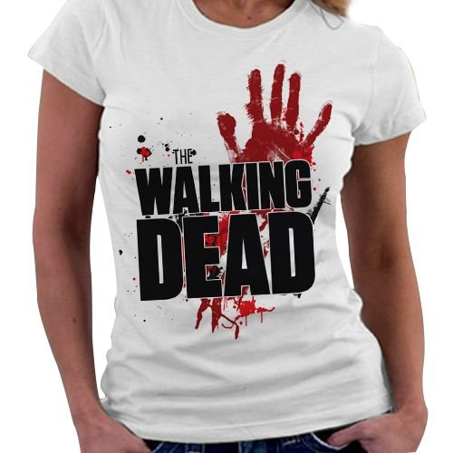 Camiseta Feminina - The Walking Dead - Logo