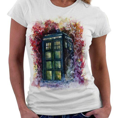 Camiseta Feminina - Tardis