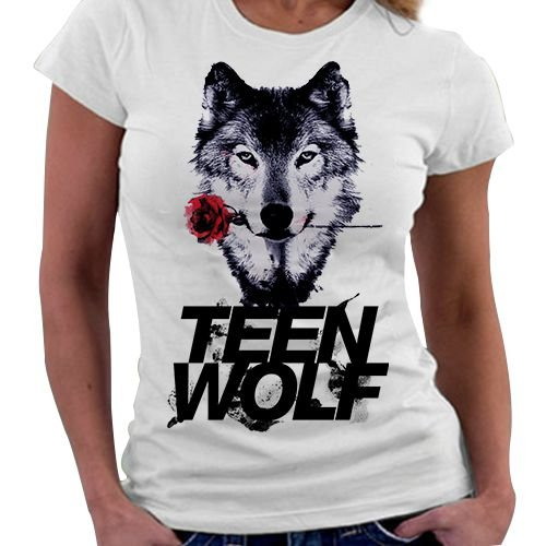 Camiseta Feminina - Teen Wolf