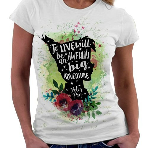 Camiseta Feminina - Peter Pan - Big Adventure