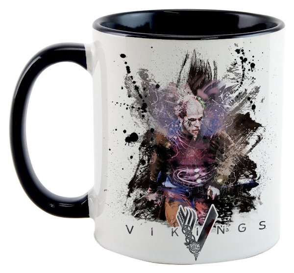 Caneca - Vikings - Watercolor