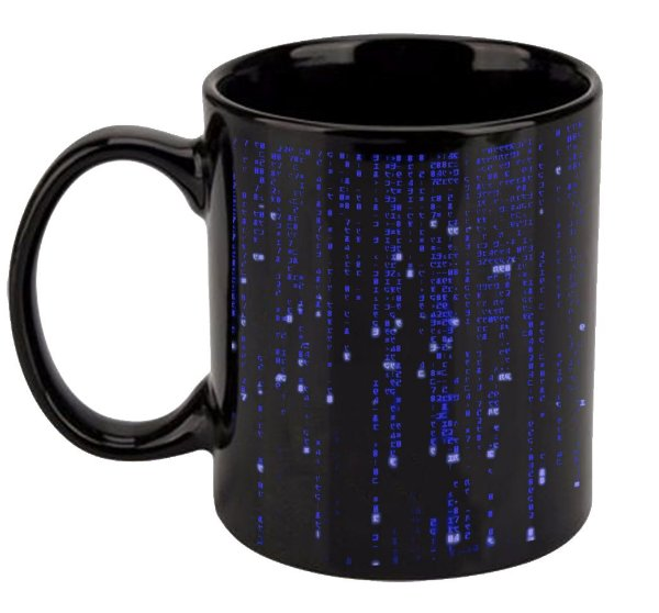 Caneca Matrix - Blue