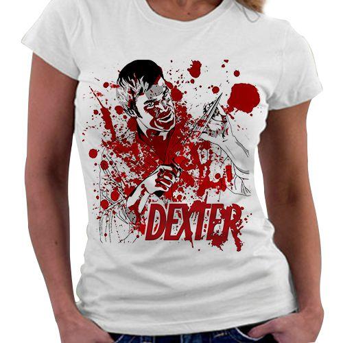 Camiseta Feminina - Dexter