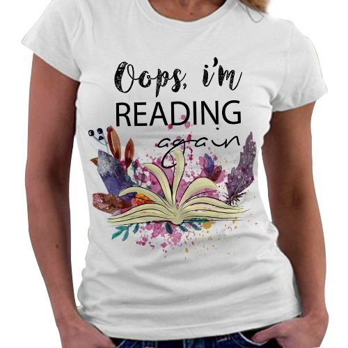 Camiseta Feminina - Reading Again