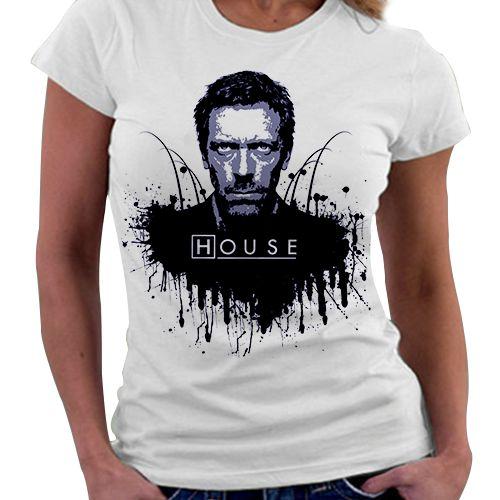 Camiseta Feminina - House