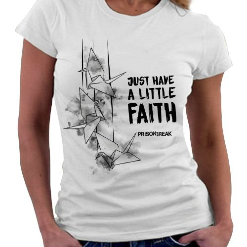 Camiseta Feminina - Prison Break - Faith