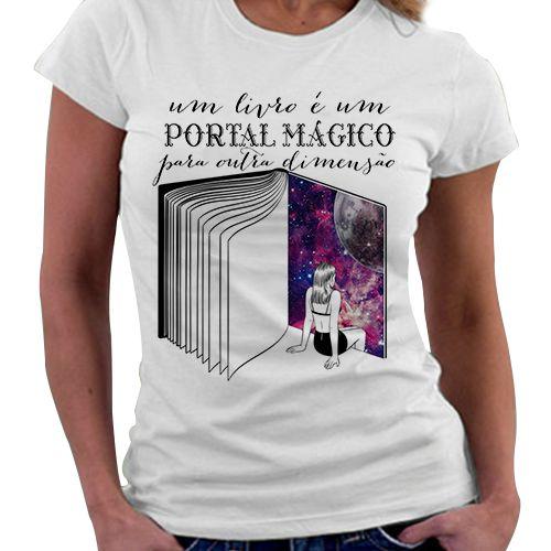 Camiseta Feminina - Portal