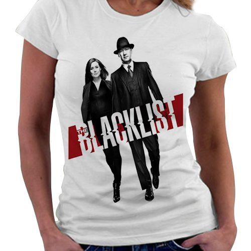 Camiseta Feminina - The BlackList
