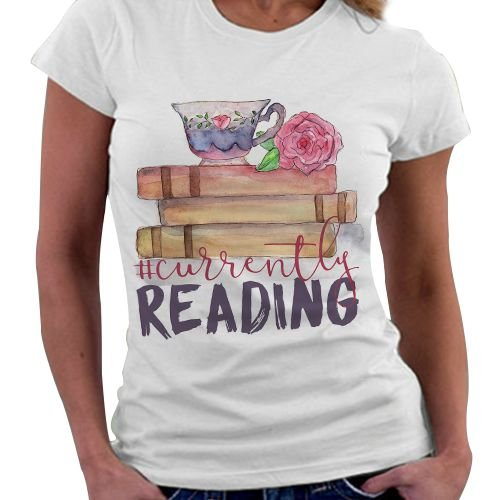 Camiseta Feminina - Lendo no Momento