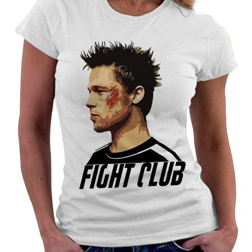 Camiseta Feminina - Clube da Luta