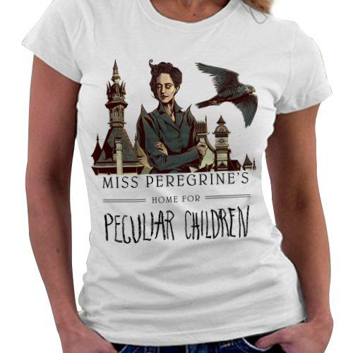 Camiseta Feminina - Miss Peregrine's