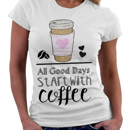 Camiseta Feminina - Coffee